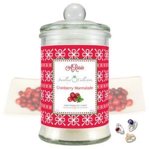 Vonná svíčka ARosée JC Cranberry Marmalade