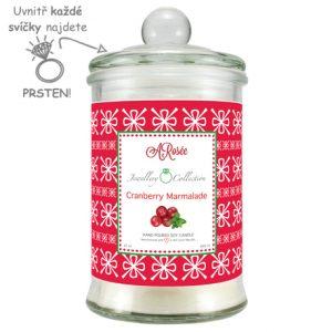 Vonná svíčka Cranberry Marmalade