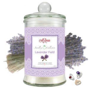 "Vonná svíčka ARosée JC ""Lavender Field"""