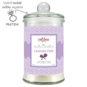 Vonná svíčka Lavender Field