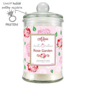 Vonná svíčka Rose Garden