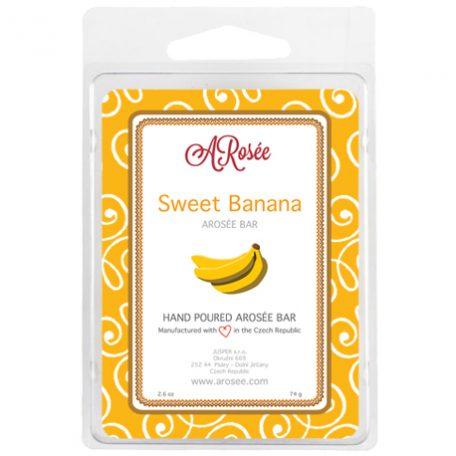 sojový vonný vosk do aromalampy s vůní sladkého banánu