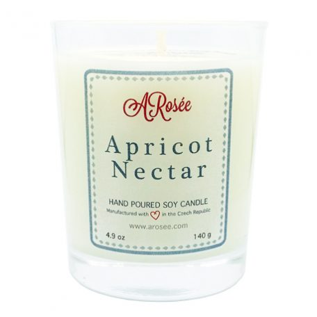 Sojová svíčka ARosée Apricot Nectar
