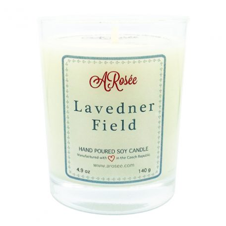 Soy candle ARosée