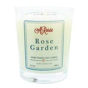 Scented soy candle ARosée