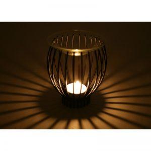 Kovová aroma lampa