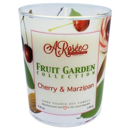 Vonná sojová svíčka ARosée Cherry & Marzipan
