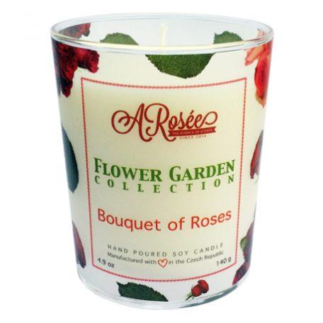 Sojová vonná svíčka ARosée Bouquet of Roses