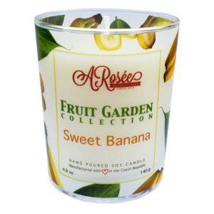 Sojová svíčka ARosée Sweet Banana