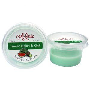 Vonný vosk ARosée Mini Bar Sweet Melon & Kiwi s vůní sladkéhomelounuakiwi