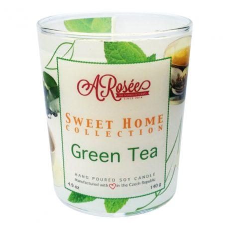 Vonná sojová svíčka Green Tea