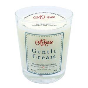Sójová svíčka ARosee Gentle Cream